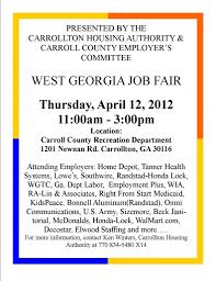 west job fair carrolltonhousingauthority com west job fair