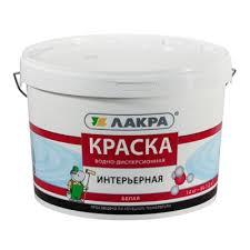<b>Краска интерьерная ЛАКРА</b> 14кг Белый купить в Москве по ...