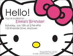 hello kitty photo birthday invitations eysachsephoto com hello kitty photo birthday invitations