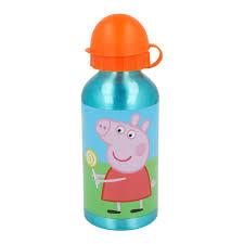 <b>Бутылка</b> для воды Stor <b>Свинка Пеппа</b> 400 мл алюминиевая (Stor ...