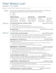 entry level mechanical engineer resumes template entry level mechanical engineer resumes