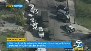 school lockdown com school lockdowns lifted in san jacinto