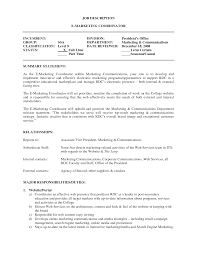 marketing coordinator resume example com marketing coordinator resume example com