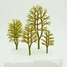 10cm ABS Plastic <b>Model</b> Trees Train Railroad Scenery <b>Model</b> ...