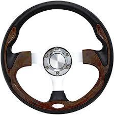 "<b>Forever</b> Sharp 12.5"" Pursuit Classic <b>II</b> Performance Steering <b>Wheel</b>"
