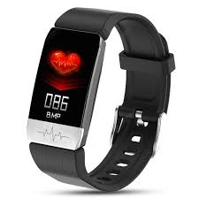 New T1 <b>Smart Watch Body Temperature</b> Measure Blood Pressure ...