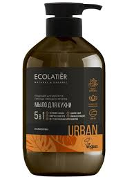 Жидкое <b>мыло для рук</b> КЛЕМЕНТИН кухонное, 600 мл ECOLATIER ...
