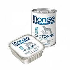 <b>Консерва Monge Dog Monoproteico</b> Solo (Паштет из тунца ...