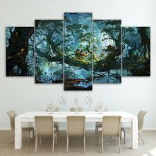 Canvas Painting Wall <b>Art</b> Modular HD Printed <b>5 Pieces Fantasy</b>