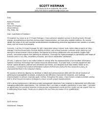 professional job cover letter sample