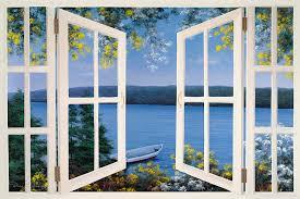 Bild på fönster