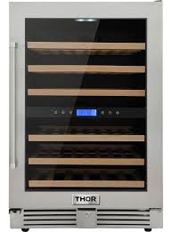 Dual Zone Wine Cooler 24 Inch – TWC2401DO | <b>Thor</b> Kitchen