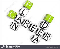 signs and info career plan idea crossword stock illustration career plan idea crossword