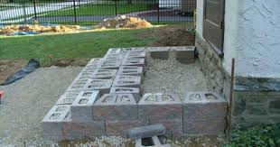 patio steps pea size x: step construction kleinberg landscaping hardscaping and constructing steps in delaware county chester county