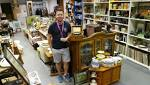Charity's depot is a goldmine of collectibles and curios