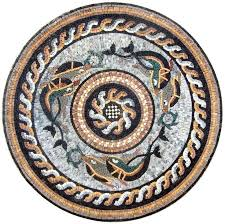 Marble Mosaic Rondure -Fish Wheel | Квилтинг, <b>Мозаика</b> и Арабески