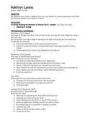 kathryn lyons resume