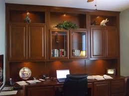 pretty home office with glass doors home office furniture with built built office cabinets home