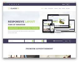 best wordpress classifieds directory themes colorlib classify classified template