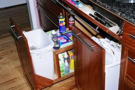 Kitchen Cabinet Garbage Drawer Emmes Woodshop Makers Of Fine Furniture Designed And Built To Last