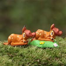 1Pc Mini Sika Deer Happy <b>Birthday Cake Decorations Ornaments</b> ...
