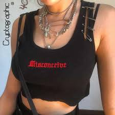 cryptographic tops for women cotton v neck sleeveless solid tank hollow out fashion button crop 2019 sexy autumn