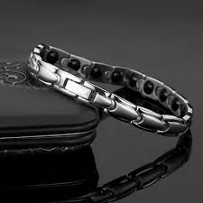 Bracelet Bracelet <b>Korean Version</b> of <b>Titanium Steel Metal</b> Men and ...