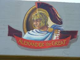 essay on alexander the great file alexander the great wall painting in acre jpg