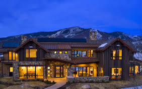 Modern Mountain House Mountain Rustic Modern Whistler Mountain Style Exteriors