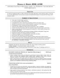 sample resumes msw resume examples mlumahbu resume letter sample resumes