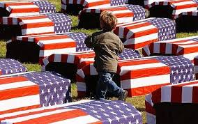 Image result for flag draped coffin