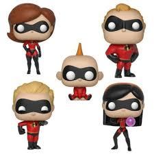 <b>Funko Pop</b>! <b>5</b>-Pack Disney Incredibles Series 2 Collectors Figurines ...