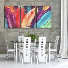 3 cascade <b>huge modern abstract</b> canvas painting decorative wall ...