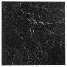 floor vinyl tiles black