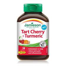<b>Tart Cherry</b> & <b>Turmeric</b> – Jamieson Vitamins