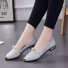 Women <b>Spring Casual Pointed</b> Toe Square Heel Shoes Low Heel ...
