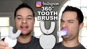 Trying Instagram Products! V-White <b>360 Degree</b> Toothbrush ...