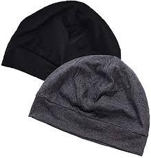 EINSKEY <b>Cotton Beanie</b> Hat, 2-Pack <b>Unisex</b> Running Skull Cap ...