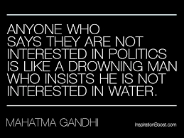 Hand picked three noble quotes about politics photo English ... via Relatably.com