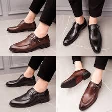 IELGY <b>Business</b> Leather <b>Shoes Men's Fashion</b> Genuine Leather ...