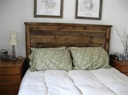 image of rustic reclaimed wood headboard cheap reclaimed wood furniture