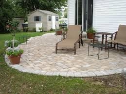 superior paver patio ideas with longue chair also a black square table design terrific small balcony furniture ideas fashionable product