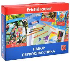 Купить <b>Набор первоклассника ErichKrause</b> 45413, 43 пр. по ...