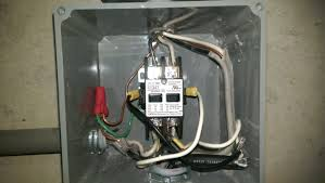 electrical correct wiring of float switch into two pole wired contactor