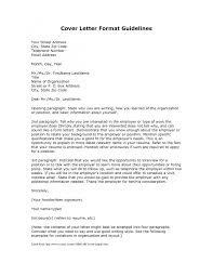 cover letter address format template cover letter address format