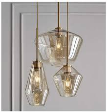 <b>Nordic Glass Ball</b> Modern <b>Pendant</b> Light Simple Bar LED <b>Pendant</b> ...