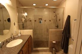 mesmerizing home interior decorating for small bathroom remodel ideas featuring appealing round wall mirror frameless above chic small white home