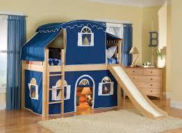 cream wooden loft bed bunk bed steps casa kids