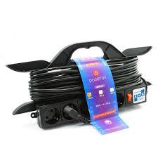 Купить Сетевой <b>удлинитель PowerCube</b> 16А, 5-розеток, <b>10m</b> ...