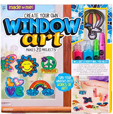 Made By Me Create Your Own Window Art by Horizon ... - Amazon.com
